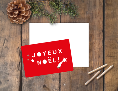 pochoir carte Noël Joyeux Noêl