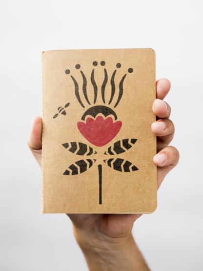 Cartes de voeux motifs fleurs