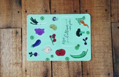 planning plantation fruits et légumes