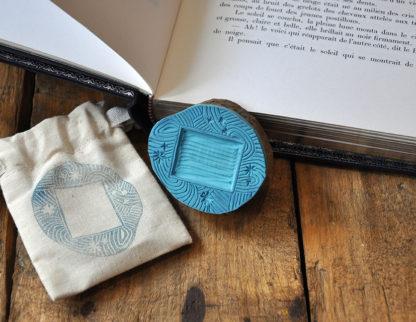 tampon ex-libris étiquettes pour vos livres, documents