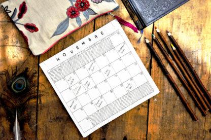 calendrier perpétuel à commencer quand vous voulez