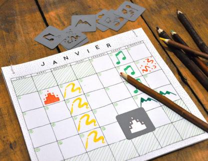 un calendrier perpétuel, à commencer quand vous le voulez
