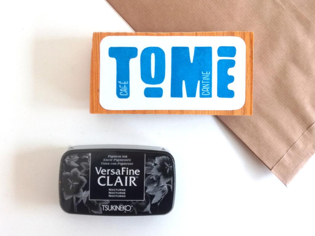 tampon logo pour café cantine Tome