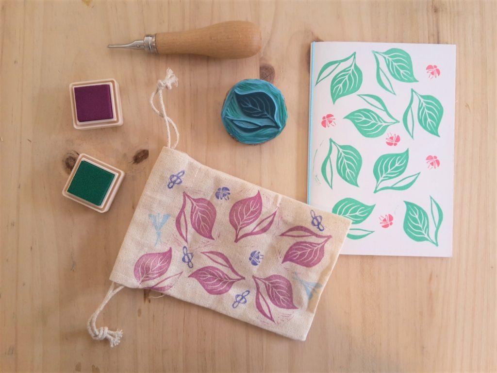 Ateliers créatifs à Lyon tampon - carte